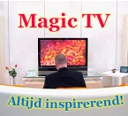 Inspirerende televisie; docu's, films, meditaties, etc. Je verveelt je niet met Magic TV!